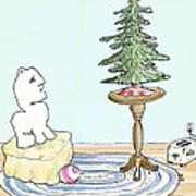 Christmas Toaster Art Print by Alan McCormick