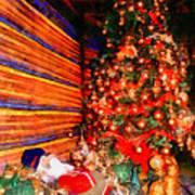 Christmas Tree Print by George Rossidis
