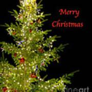 Christmas Tree Lighting Art Print