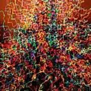 Caffeinated Christmas  Art Print