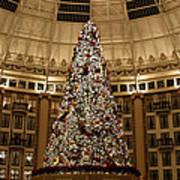 Christmas Tree Print by Sandy Keeton
