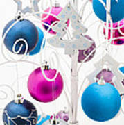 Christmas Tree Tree Art Print by Anne Gilbert