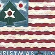 Christmas U.s.a. Art Print