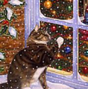 Christmas Visitor Art Print