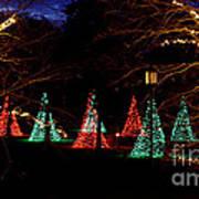 Christmas Wonderland Walk Art Print