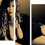 Christy Canyon In Copper Art Print