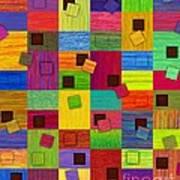 Chronic Tiling V2.0 Art Print by David K Small