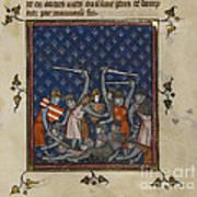 Chroniques De France Ou De Saint Denis Art Print