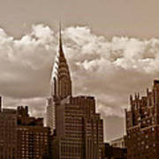Chrysler Building And The New York City Skyline Art Print