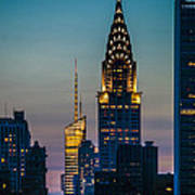 Chrysler Building At Sunset Art Print
