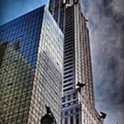 Chrysler Building From Below Art Print