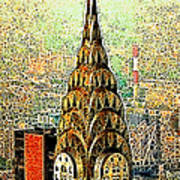Chrysler Building New York City 20130503 Art Print by Wingsdomain Art and Photography