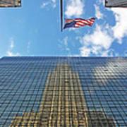 Chrysler Building Reflections Vertical 1 Art Print