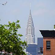Chrysler Building View Art Print
