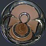Chrysler Continental Kit Orb Art Print