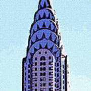 Chrysler Spire Nyc Usa Art Print
