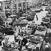 Chrysler Tank Plant Art Print