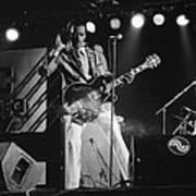 Chuck Berry At The North Sea Jazz Festival 1987 Art Print