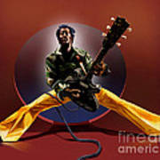 Chuck Berry - This Is How We Do It Art Print by Reggie Duffie