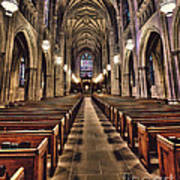 Church Aisle Art Print