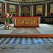 Church Alter Provence France Art Print
