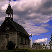 Church At The Okeefe Ranch Art Print