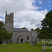 Church Avebury Uk 2 Art Print