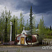 Church Beaver Creek Yukon Art Print