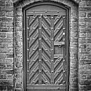 Church Door 02 Art Print
