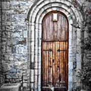Church Door Killala Ireland Art Print