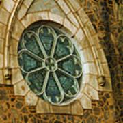Church Glass Art Print