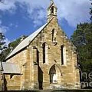 Church In Berrima A Town In Regional New South Wales Australia Art Print