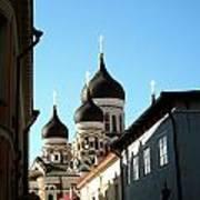 Church In Estonia Art Print