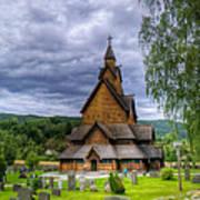 Church In Norway Art Print