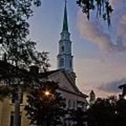 Church In Savannah Art Print