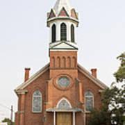 Church In Sprague Washington Art Print
