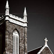 Church In Tacoma Washington 5 Art Print