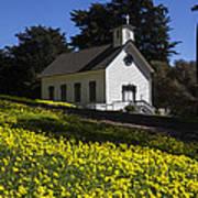 Church In The Clover Art Print