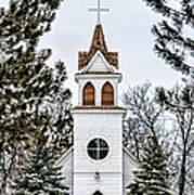 Church In The Woods Art Print