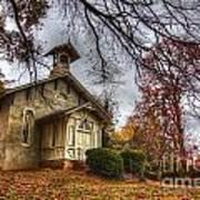 Church Of Autumn Art Print