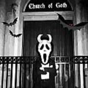 Church Of Goth Art Print