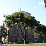 Church Of Hagia Eirene I - First Courtyard Topkapi Palace Art Print