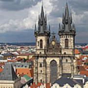 Church Of Our Lady Before Tyn - Prague Art Print