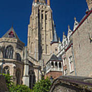 Church Of Our Lady In Bruges Art Print