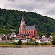 Church Of Our Lady  Oberwesel Am Rhein Art Print