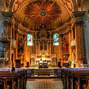 Church Of Saint Agnes Art Print