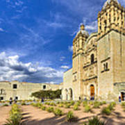 Church Of Santo Domingo De Guzman In Oaxaca Art Print