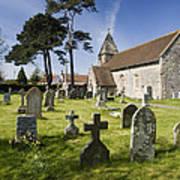 Church Of St John The Evangelist - Kenn - North Somerset Art Print