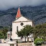 Church Of St.mark Makarska Art Print