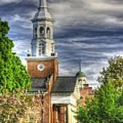 Church Of The Abiding Presence 1a - Lutheran Theological Seminary At Gettysburg Spring Art Print